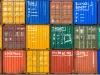 Container im Niehler Hafen